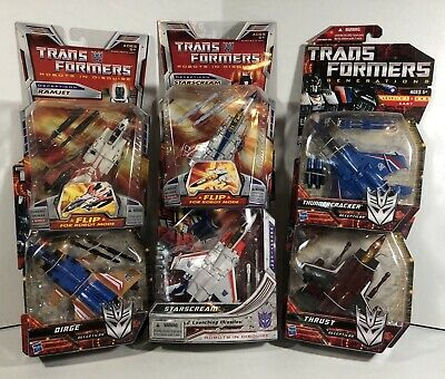 Transformers G1 Dirge Ramjet Thrust Thunder Fist HAND Double tab Parts Lot 1980