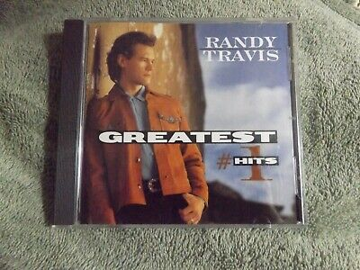 CD Randy Travis Greatest #1 Hits 10 Songs Country 1998 Warner Brothers