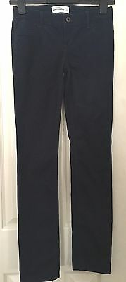 Abercrombie Girls Navy Trousers Size16 W27 L30