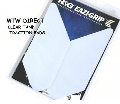 R&G RACING CLEAR TANK TRACTION PADS for  BMW R1200RT (2014-2018)