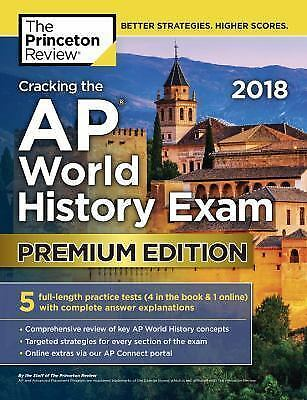 CRACKING THE AP World History Exam 2019 Edition Princeton