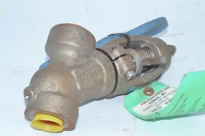 Conval 1'' Throttling Valve With Handle, 13G2J-F225E-3199