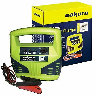 Car / Van / Motorbike Compact Portable Battery Charger 12V 4Amp Automatic Mower