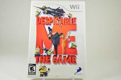 Despicable Me: The Game (Nintendo Wii, 2010) Wii U