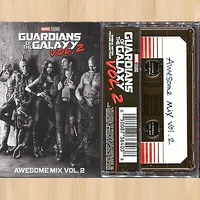 GUARDIANS OF THE GALAXY Awesome Mix Vol. 2 URBAN OUTFITTERS Cassette Tape   0529