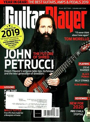Guitar Player Magazine  2017 - 2019 Issues
