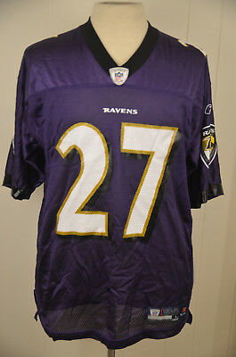 low priced d5b8b 3f02a REEBOK BALTIMORE RAVENS RAY RICE #27 Jersey embroidered size ...