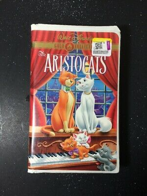 Walt Disney The Aristocats (VHS, Gold Collection) Clamshell Case