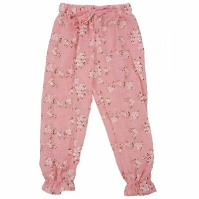 Children Kids Baby Girls Trousers Child Casual Floral Bloomers Harem Pants X4L7