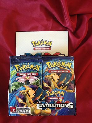 Pokemon Genuine Trading Cards  XY -Evolutions Brand New Sealed Pack