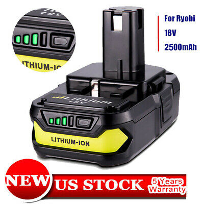 For Ryobi P102 18V 2.5Ah Battery Max Lithium-ion P108 Plus P103 P104 P107 P190
