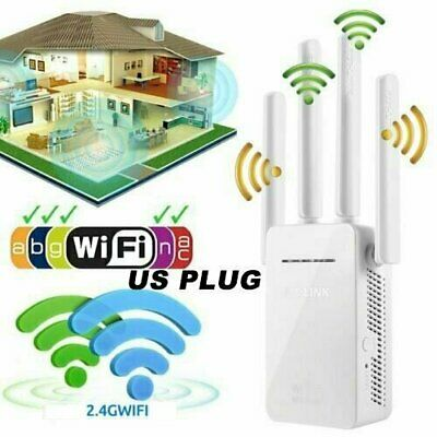 WiFi SIGNAL Range Booster Wireless Internet Network Extender Dual-Band Repeater