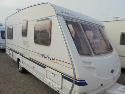 Sterling Europa 490/Fixed Bed @ Northyorkshirecaravans.co.uk