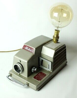 Vintage Aldis 303 Slide Projector Up-cycled Table Lamp  [5254]