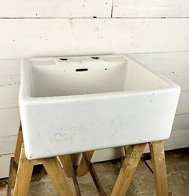 Large Reclaimed Butler Belfast Sink with Tap Holes