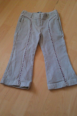 GIRLS TODAY Grey velour trousers age 3 years