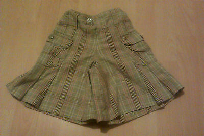 Girls Next Winter Culottes Age 3 With Adjustable Waist