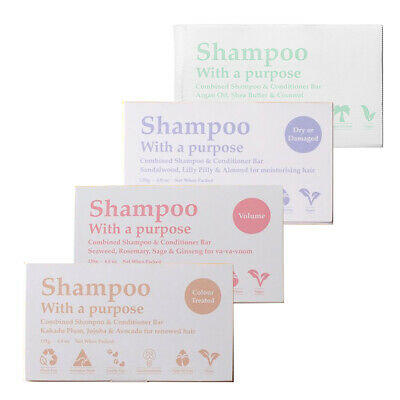 Clover Fields Shampoo With A Purpose 135G Combined Shampoo & Conditioner Bar