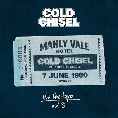 Cold Chisel - The Live Tapes [New & Sealed] 2 CDs Digipack