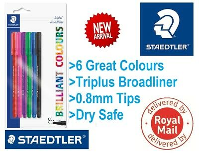 Color Assorted-69771 Triplus Colour and Fineliner Pack of 20
