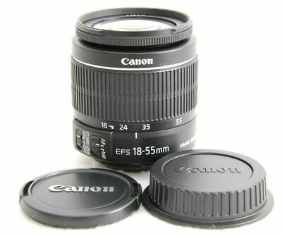 Canon EFS 1855mm F3.55.6 IS …