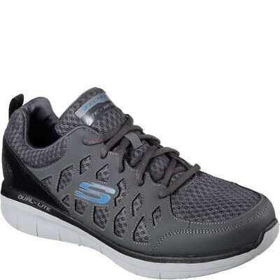 Details about 51290 CCBK Skechers Sport Men's Rig Hiking Relaxed Fit Memory Foam Shoe
