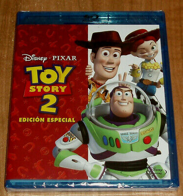 Toy Story 2 Blu-Ray Sealed New Animation Disney Aventuras (Unopened) R2