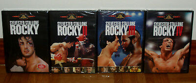 Rocky Collection I IV 4 DVD Brand New Sealed Drama Sylvester Stallone (Unopened)