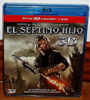 The Seventh Son Blu-Ray 3D+Blu-Ray+DVD Brand New Sealed Action Figure (Unopened)