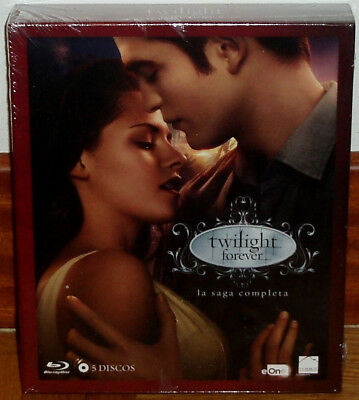 The Twilight Saga Forever Edition Complète 5 Blu-Ray Neuf (sans Ouvrir) R2