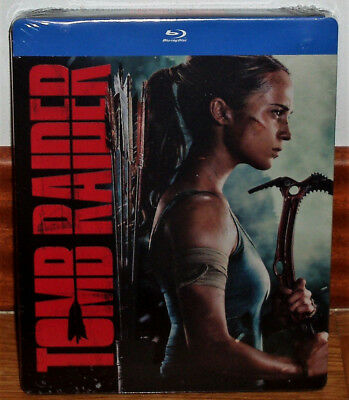 Tomb Raider Steelbook Blu-Ray Neuf Scellé Action Aventures (sans Ouvrir) R2