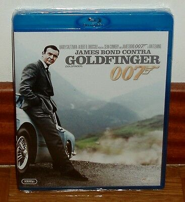 James Bond contre Goldfinger James Bond Oo7 Blu-Ray Neuf Action (sans Ouvrir)