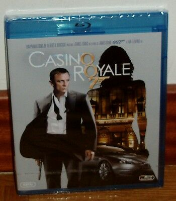 Casino Royale James Bond Oo7 Blu-Ray Neuf Scellé Action (sans Ouvrir)