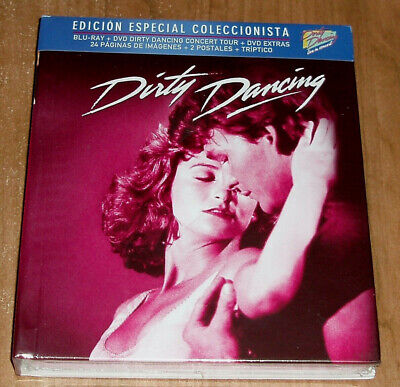 Dirty Dancing Edition Spéciale Digibook Blu-Ray + 2 DVD + Livre + Postales (sans