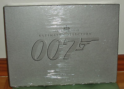 James Bond 007 Ultimate Edition Collectors 20 Films 40 DVD New R2