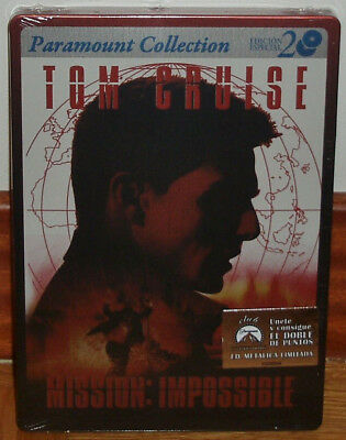 Mission Impossible Edition 2 DVD Steelbook Neuf Scellé Action (sans Ouvrir) R2