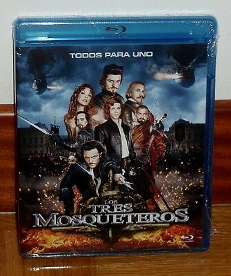 Les Trois Mousquetaires The Three Musketeers Blu-Ray Neuf Scellé (sans Ouvrir)