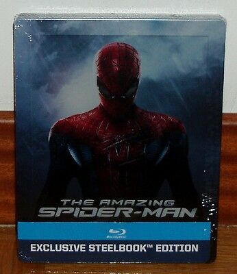 The Amazing Spider-Man Steelbook Blu-Ray Nuovo New Sigillato Sealed (Sigillato)
