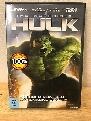 The Incredible Hulk (Widescreen Edition) Edward Norton, Liv Tyler, Tim Roth, Wi