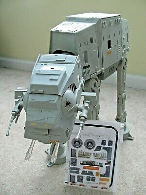 Vtg Star Wars Kenner ESB AT-AT ATAT Walker Works Complete w/Replacement Parts