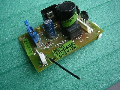 KIRBY LESTER KL-X POWER BOARD wNEW TRIGGER SWITCH--USED,BUT TESTED+ Instructions