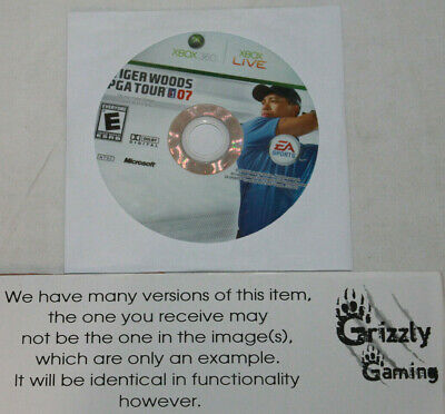 USED Tiger Woods PGA Tour 07 XBOX 360 (NTSC) DISC ONLY!!