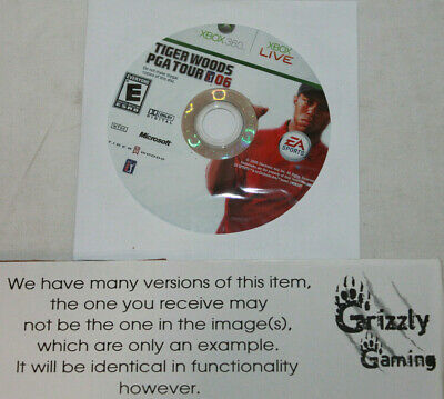 USED Tiger Woods PGA Tour 06 XBOX 360 (NTSC) DISC ONLY!!