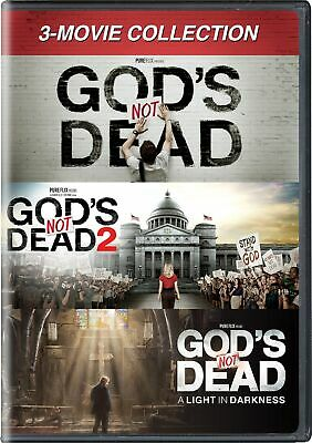 God's Not Dead 3-movie Collection DVD Willie Robertson NEW