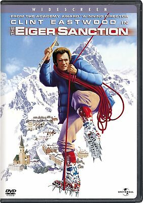 The Eiger Sanction DVD Clint Eastwood NEW