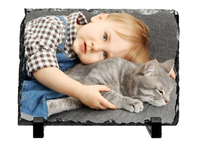 Personalised Photo Rock Slate Custom Printed With Your Picture Glossy Finish