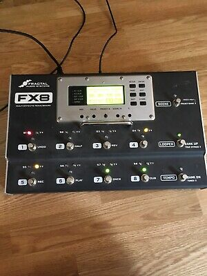 FRACTAL AUDIO SYSTEMS Multi-Effects Pedalboard FAS-008D-AX8 from