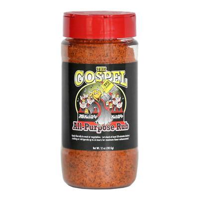 Homemade Georgia Boys All Purpose Barbeque Rub Spice Seasoning Salty