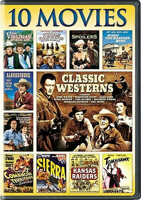 Classic Westerns: 10-Movie Collection (Box Set) [DVD]