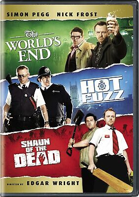 Shaun of the Dead / Hot Fuzz / The World's End DVD  NEW